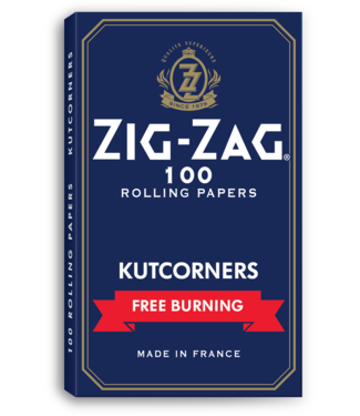 Zig Zag Zig Zag Kut Corners Blue Free Burn