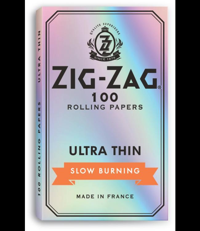 Zig Zag Zig Zag Ultra Thin Silver Slow Burn