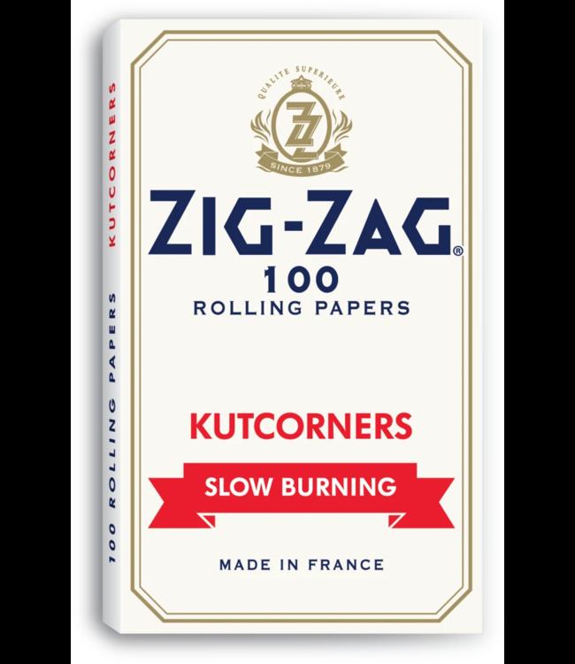 Zig Zag Zig Zag Kut Corners White Slow Burn