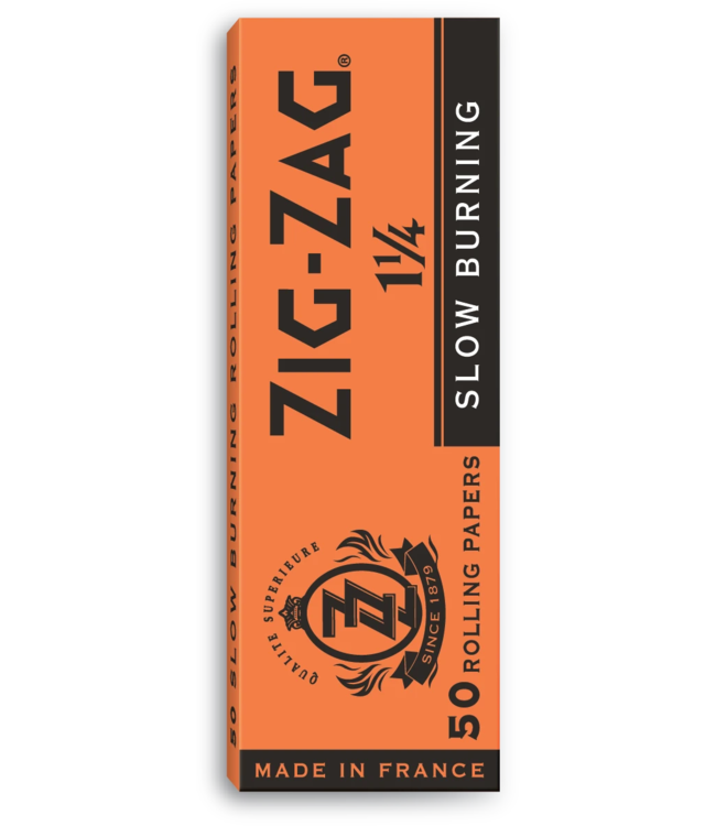 Zig Zag Zig Zag Orange Slow Burn 1 1/4