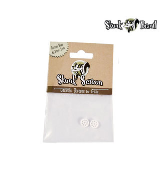 Skunk Skunk Ceramic Screen 6.3mm 2-pack