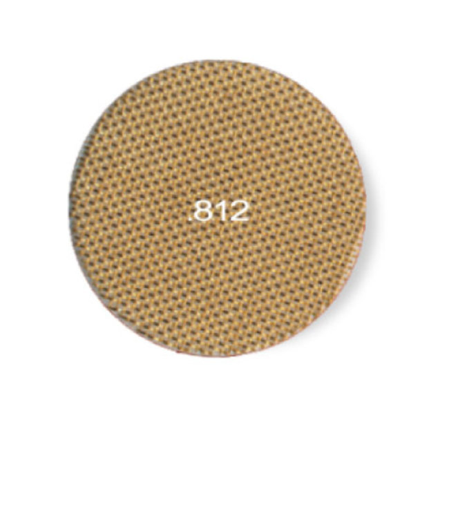 "Pipe Screens - Standard Brass 0.812"" (6-pack)"