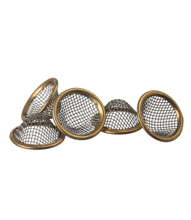 Stainless Steel Basket Screens Pack of 5
