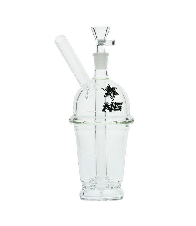 "Nice Glass Nice Glass 8"" Drink Cup w/ Double Wheel Perc"