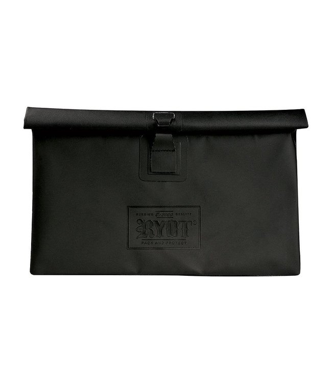 RYOT RYOT Flat Pack Smell Proof Pouch w/ Lock Black Medium