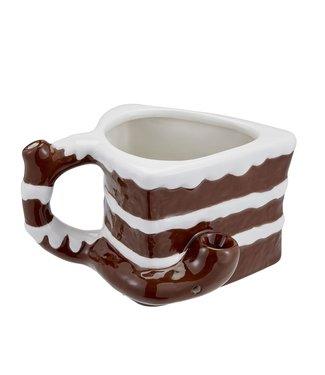 Ceramic Cake Mug Pipe