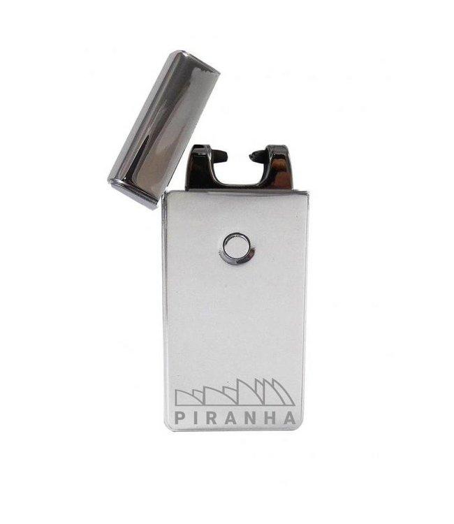Piranha Piranha Single Arc Plasma Lighter - Silver