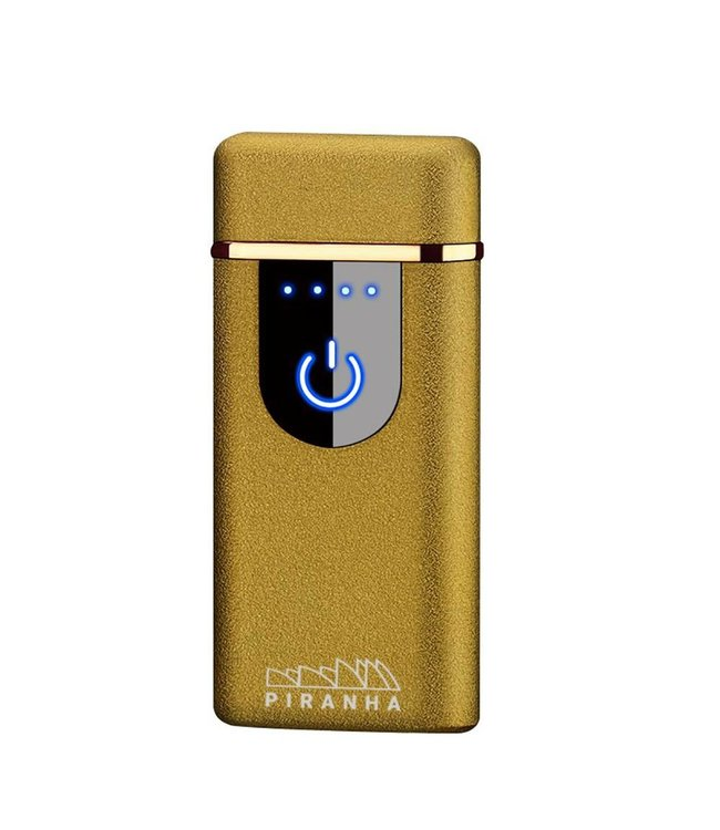 Piranha Piranha Plasma X - Dual Crossing Lighter - Matte Gold