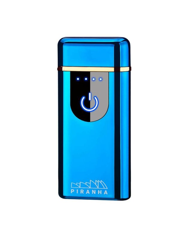 Piranha Piranha Plasma X - Dual Crossing Lighter - Blue