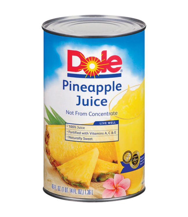 Safe - Dole Pineapple Juice