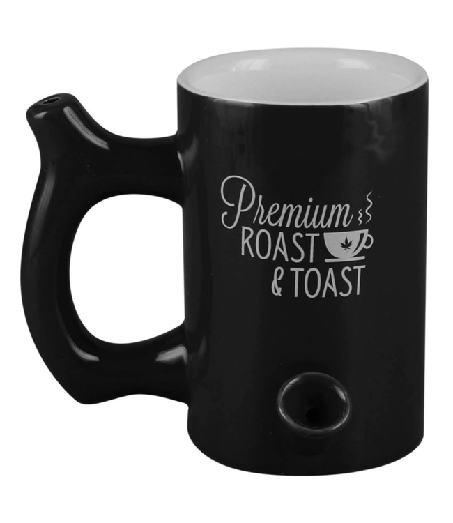 Premium Roast & Toast 10.5oz Ceramic Mug w/ Pipe