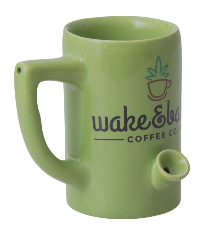 Wake & Bake 8oz Ceramic Pipe Mug