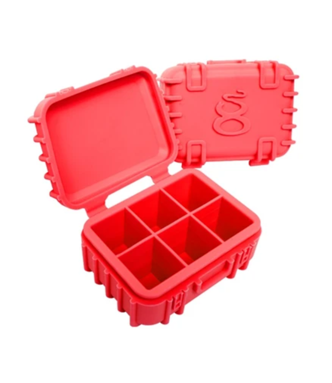 STR8 STR8 Platinum Cured Silicone Case w/ 6 Chambers - Red