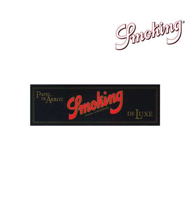 Smoking Smoking Deluxe 1 1/4 Papers