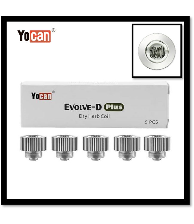 Yocan Yocan Evolve-D Plus Dry Herb Coil 5-Pack