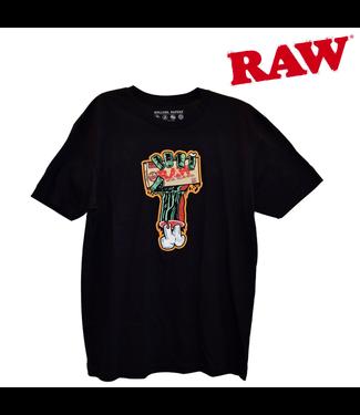 RAW RAW Men's Zombie Arm Black T-Shirt