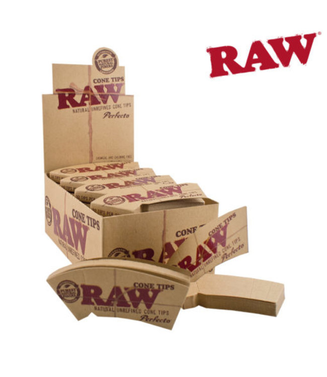RAW RAW Cone Tips Perfecto 32-Pack