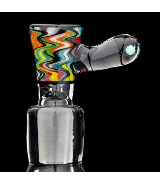 Intent Glass Intent Glass 14mm Psy-Tek Slide w/ Opal [IG19]