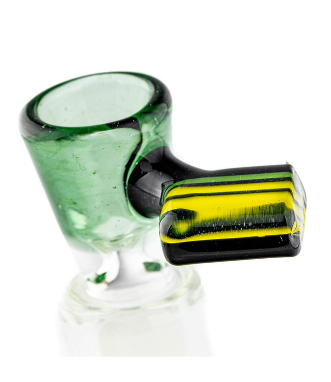 Intent Glass Intent Glass 14mm Chip Handle Slide Green