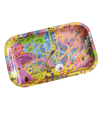 """Dunkees Dunkees Rolling Tray 10.5"""" x 6.5"""" Blind Man"""