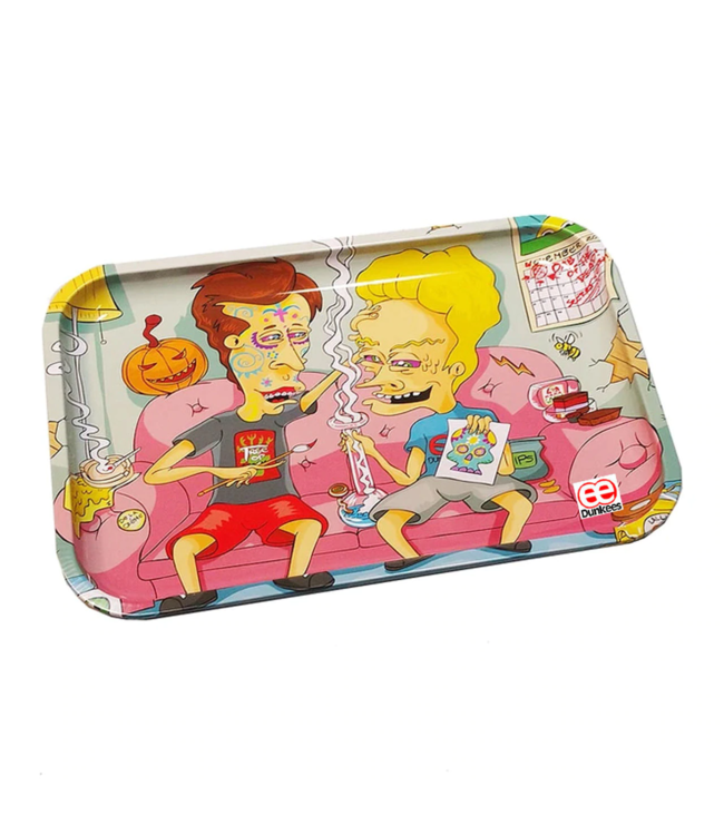 """Dunkees Dunkees Rolling Tray 11.75"""" x 7.75"""" Dab of the Dead"""