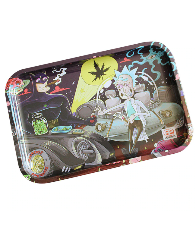 """Dunkees Rolling Tray 13"""" x 9"""" Smoke Signals"""