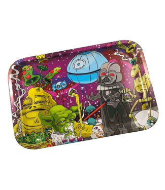 """Dunkees Dunkees Rolling Tray 11.75"""" x 7.75"""" Dab Wars"""
