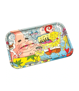 """Dunkees Dunkees Rolling Tray 11.75"""" x 7.75"""" Wax Dreams"""