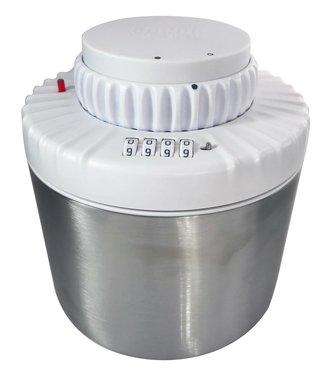 Sneak Guard Lockable Storage Container w/ Vacuum Lid