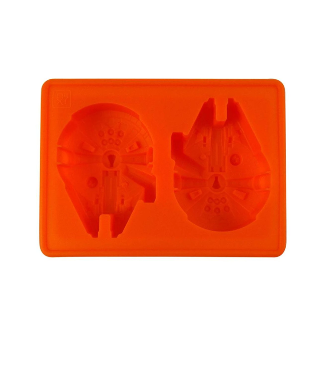 Dope Molds Dope Molds Silicone Gummy Mold Millenium Falcon Orange