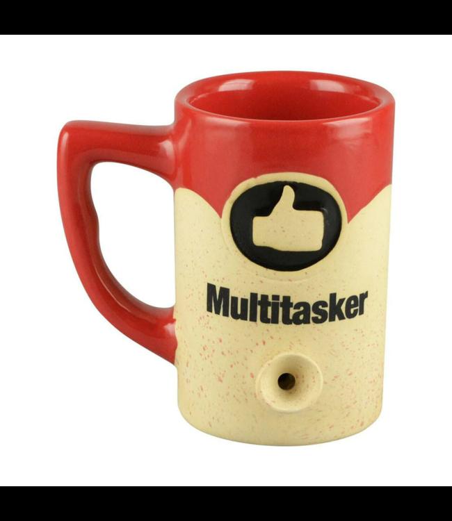 Wake & Bake 8oz Ceramic Pipe Mug Multi-Tasker