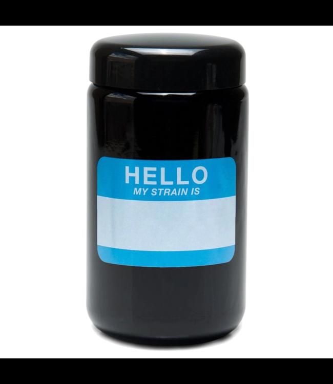420 Science 420 Science UV Screw Top Jar XL Hello Write & Erase