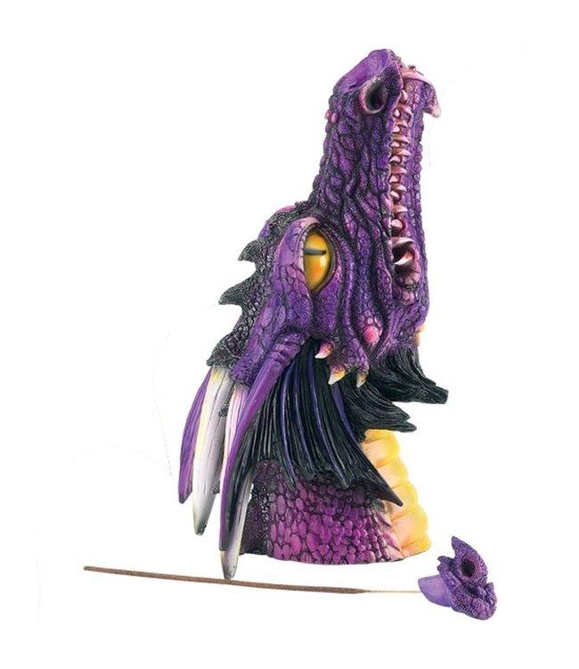 "Dragon Incense Burner / Smoker 12"""