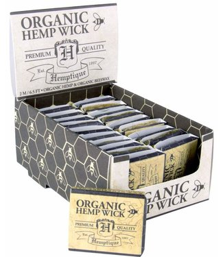 Hemptique Hemptique Organic Hemp Wick Sample (6.5')