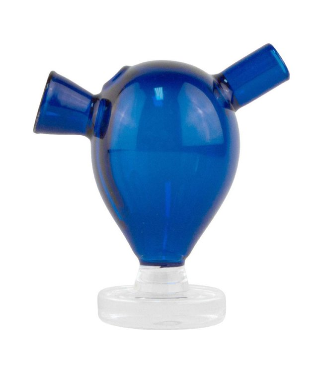 "2.5"" Glass Blunt Bubbler - Cobalt"