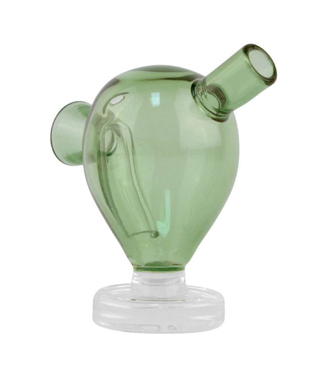 "2.5"" Glass Blunt Bubbler - Green"