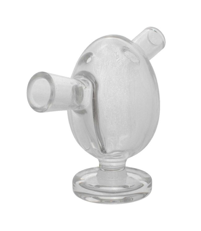 "2.5"" Glass Blunt Bubbler - Clear"