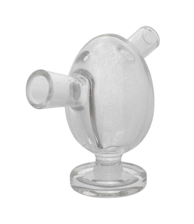 """Glass 2.5"""" Blunt Bubbler - Clear"""