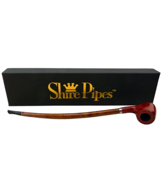 """Shire Pipes 11.5"""" Apple Churchwarden Rosewood"""
