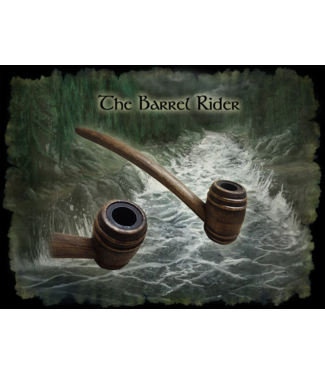 "MacQueen Pipes MacQueen Pipes 6"" Birch Barrel Rider Pipe"
