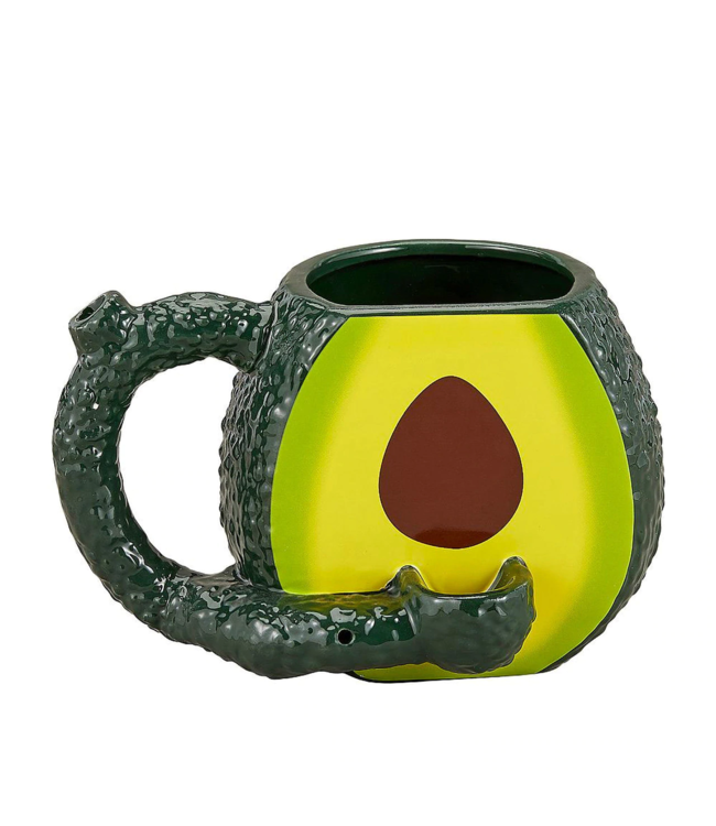 Premium Roast & Toast 16oz Ceramic Mug Avocado