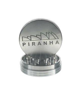 """Piranha Piranha 3.5"""" 2-Piece Pollinator Grinder Silver"""