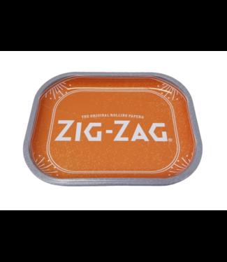 """Zig Zag Zig Zag Rolling Tray Orange Small 7"""" x 5.5"""""""