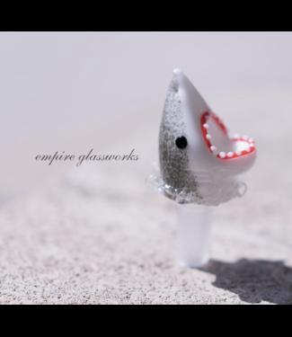 Empire Glassworks Empire Glassworks 14mm Jawsome Shark Bowl