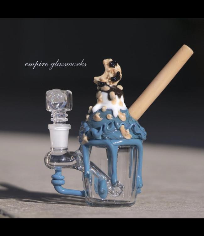 Empire Glassworks Empire Glassworks Cookie Monster Sundae Rig