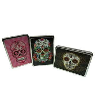 Day of the Dead Hinged Spliff Tin