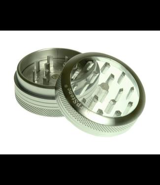 """SharpStone Sharpstone 2.2"""" 2-Piece Ejector Grinder Silver"""