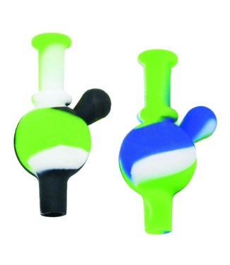 Silicone Bubble Carb Cap Assorted Colours