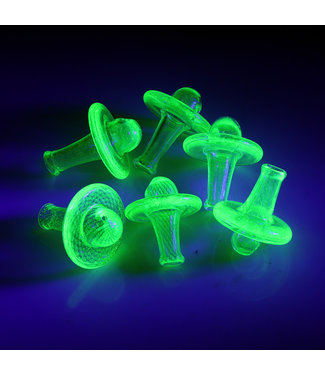 IL Glass IL Glass XL UV Reactive Colour Spinning Carb Cap Top