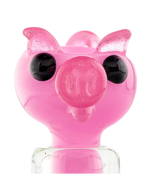Iceberg Glass Iceberg Glass Bowl Pig 14mm